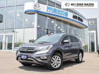 Used 2015 Honda CR-V EX AWD|MOONROOF|ALLOY WHEELS|REAR-VIEW CAMERA for sale in Mississauga, ON