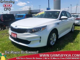 Used 2018 Kia Optima LX+| Bluetooth| Heat Seats| PWR Options for sale in Grimsby, ON