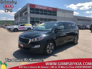 Used 2019 Kia Sedona SX| Heat Seat Steer| 3rd Row| Backup Cam| Sunroof for sale in Grimsby, ON