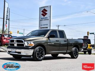 Used 2012 RAM 1500 ST QUAD CAB 4X4 for sale in Barrie, ON