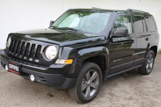 Used 2015 Jeep Patriot 4WD High Altitude Leather Sunroof Alloy wheels for sale in Mississauga, ON