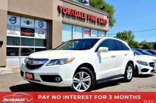 Used 2015 Acura RDX TECH PKG NAVI LEATHER SUNROOF BACK UP CAM RUNNING BOARDS for sale in Toronto, ON