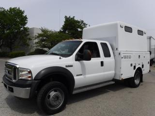 Used 2007 Ford F-550 SuperCab 4WD Service Truck Diesel Dually for sale in Burnaby, BC