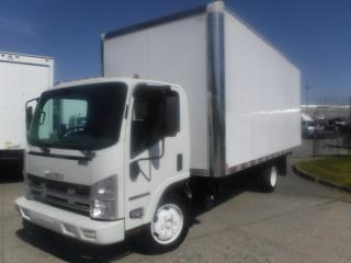 Used 2013 Isuzu NQR Cube Van Diesel 20 Foot 3 Passenger with Ramp for sale in Burnaby, BC