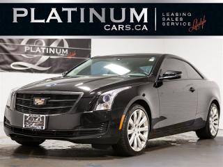 Used 2017 Cadillac ATS 2.0T, CAM, SUNROOF, Bose AUDIO, Heated Lthr for sale in Toronto, ON