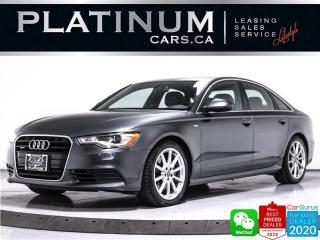 Used 2015 Audi A6 2.0T quattro Technik, AWD, NAV, SLINE, CAM, HEATED for sale in Toronto, ON