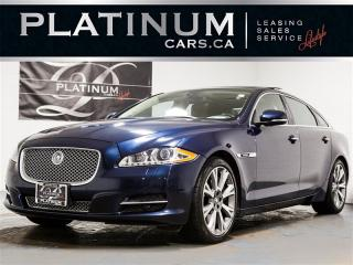 Used 2012 Jaguar XJ XJL, SUPERCHARGED, PORTFOLIO, NAVI, PANO, Massage for sale in Toronto, ON