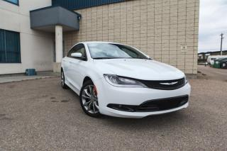 Used 2017 Chrysler 200 S - Leather - AWD 200 for sale in Edmonton, AB