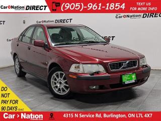 Used 2003 Volvo S40 | AS-TRADED| LEATHER| POWER SEAT| for sale in Burlington, ON