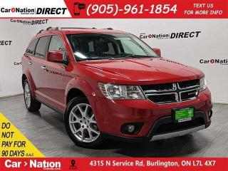 Used 2018 Dodge Journey GT| AWD| LEATHER| 7-PASSENGER| for sale in Burlington, ON