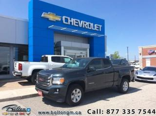 Used 2017 GMC Canyon SLE  - SLE Package - $262.46 B/W for sale in Bolton, ON