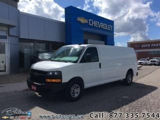 Used 2018 Chevrolet Express Cargo Van WT  -  1WT Package - $235.83 B/W for sale in Bolton, ON