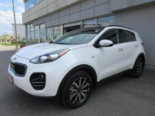 Used 2018 Kia Sportage EX Tech Demo/leather/roof/NAV/camera/Push start for sale in Mississauga, ON