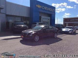 Used 2015 Cadillac ATS Sedan Sedan AWD 2.0L Turbo  - $166.51 B/W for sale in Bolton, ON