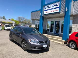 Used 2015 Honda Civic EX*Seulement 39,615km! for sale in Québec, QC