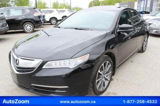 Used 2015 Acura TLX SH-AWD **WOW** FINANCEMENT FACILE !! for sale in Laval, QC