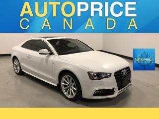 Used 2016 Audi A5 2.0T Progressiv plus S-LINE|PANOROOF|NAVIGATION for sale in Mississauga, ON