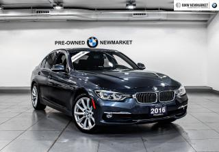Used 2016 BMW 328i xDrive Sedan (8E37) -NO ACCIDENTS| NAVI| BACK UP CAM | for sale in Newmarket, ON