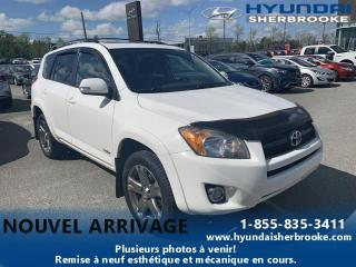 Used 2011 Toyota RAV4 SPORT AWD + TOIT OUVRANT + MAGS for sale in Sherbrooke, QC
