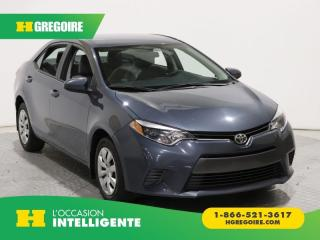 Used 2015 Toyota Corolla LE A/C GR ELECT for sale in St-Léonard, QC