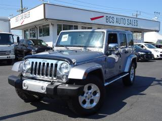 Used 2014 Jeep Wrangler Unlimited Navigation, Leather Seating, Removable Hard Top for sale in Vancouver, BC