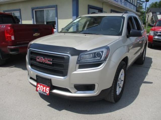 2015 GMC Acadia ALL-WHEEL DRIVE SLE-2 MODEL 7 PASSENGER 3.6L - V6.. CAPTAINS.. 3RD ROW.. HEATED SEATS.. DUAL SUNROOF.. BACK-UP CAMERA.. BLUETOOTH SYSTEM..