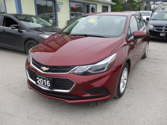 2016 Chevrolet Cruze FUEL EFFICIENT LT MODEL 5 PASSENGER 1.4L - TURBO.. HEATED SEATS.. TOUCH SCREEN.. BACK-UP CAMERA.. BLUETOOTH SYSTEM..