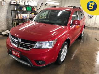 Used 2017 Dodge Journey GT * AWD * Leather * 8.4 inch touchscreen U connect * 7 passenger * Auto Start * Push button ignition * Reverse camera* Heated front seats/steering wh for sale in Cambridge, ON
