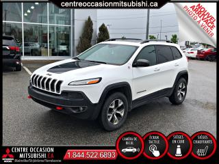 Used 2016 Jeep Cherokee Trailhawk 4X4 CUIR TOIT PANORAMIQUE for sale in St-Jérôme, QC