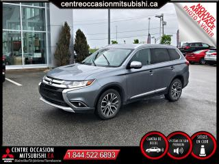 Used 2016 Mitsubishi Outlander GT S-AWC CUIR CAMERA for sale in St-Jérôme, QC