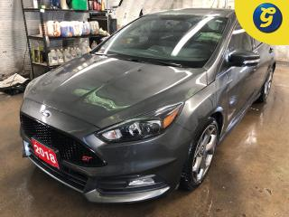 Used 2018 Ford Focus ST * Voice-activated Touchscreen Navigation * Full Leather Recaro seats * Power Monroof * 8 Inch LCD Capacitive Touchscreen in Centre Stack with Swipe for sale in Cambridge, ON