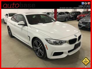 Used 2017 BMW 4 Series 440i xDrive M-PERFORMANCE PREMIUM ENHANCED RED INT! for sale in Vaughan, ON