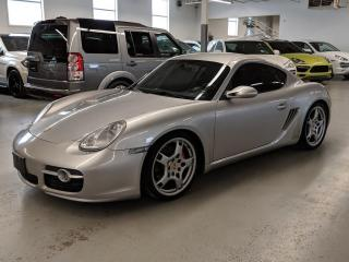 Used 2006 Porsche Cayman NAVIGATION/6 SPEED/LOW KMS! for sale in Toronto, ON