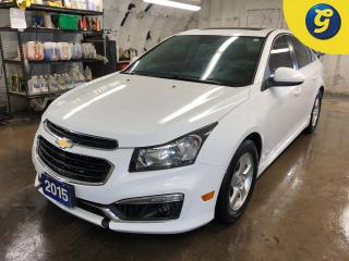 Used 2015 Chevrolet Cruze 2LT * RS * Sunroof * Chevy mylink touch screen * Reverse camera *  On star * Hands free steering wheel controls * Phone connect * Keyless entry * Clim for sale in Cambridge, ON