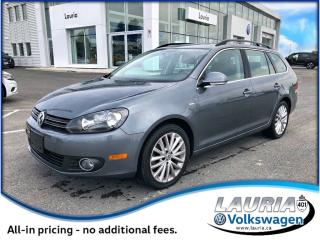 Used 2014 Volkswagen Golf 2.0 TDI Wolfsburg Wagon - Navigation - 0% for sale in PORT HOPE, ON