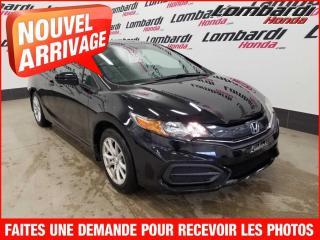 Used 2014 Honda Civic LX/AUTO./SEULEMENT 14534 KILO for sale in Montréal, QC