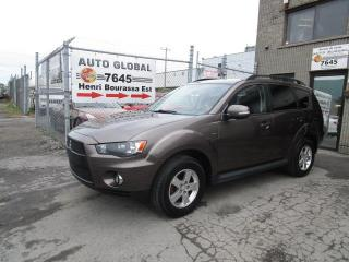 Used 2011 Mitsubishi Outlander AWD LS 7 PASSAGERS for sale in Sherbrooke, QC