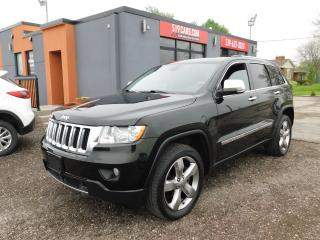 Used 2012 Jeep Grand Cherokee Overland|LEATHER|NAVI|PANO ROOF|4X4 for sale in St. Thomas, ON