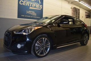 Used 2016 Hyundai Veloster TURBO AUTOMATIQUE for sale in St-Eustache, QC