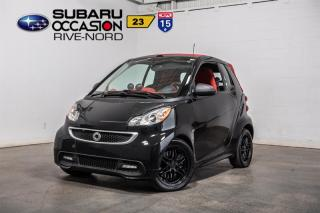 Used 2013 Smart fortwo CABRIOLET for sale in Boisbriand, QC