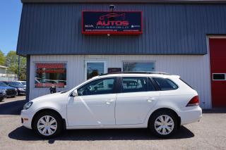 Used 2013 Volkswagen Golf Wagon WAGON 2.0 TDI COMFORTLINE 6 VITESSES TOIT OUVRANT for sale in Lévis, QC
