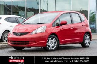 Used 2014 Honda Fit Lx Bluetooth Ac for sale in Lachine, QC
