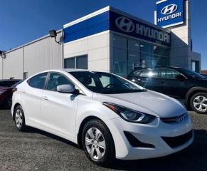 Used 2016 Hyundai Elantra L for sale in Matane, QC
