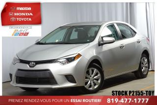 Used 2016 Toyota Corolla Le Cruise Caméra for sale in Drummondville, QC