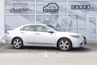 Used 2012 Acura TSX ***BAS KILOMETRAGE*** for sale in Québec, QC
