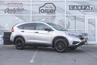 Used 2016 Honda CR-V LX GARANTIE 10 ANS/200 000 KM*** for sale in Québec, QC