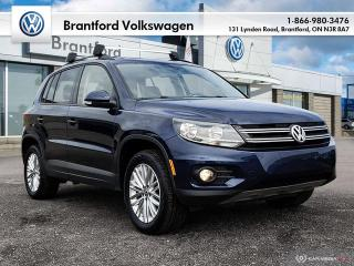 Used 2016 Volkswagen Tiguan Special Edition 2.0T 6sp at w/Tip 4M for sale in Brantford, ON