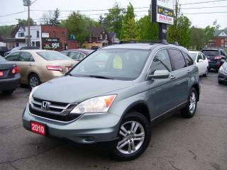 Used 2010 Honda CR-V EX,ONE OWNER,AWD,AUTO,CERTIFIED,SUNROOF,ALLOYS, for sale in Kitchener, ON