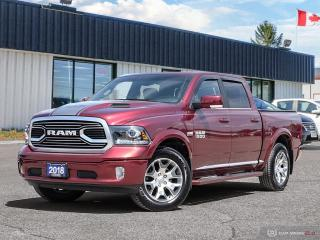 Used 2018 RAM 1500 Limited TUNGSTEN EDITION,LOW KMS,4X4,NAVI,R/V CAM, for sale in Barrie, ON