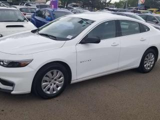 Used 2017 Chevrolet Malibu L; BLUETOOTH, BACKUP CAM, CRUISE CONTROL, A/C AND MORE for sale in Edmonton, AB